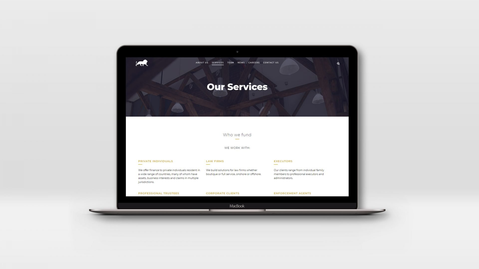Crate47 Schneider Financial Services rebranding and website design - Website Services Page