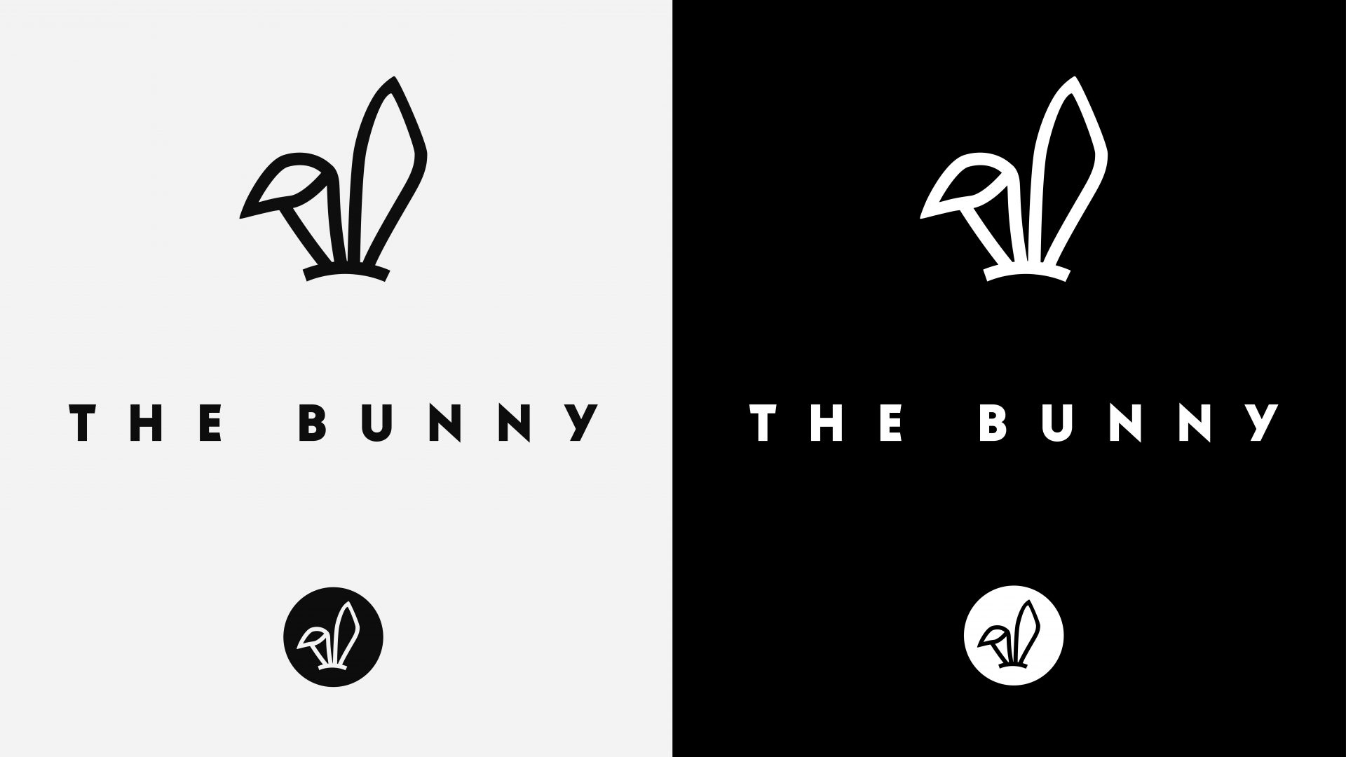 Crate47 Brand Identity – The Bunny logo and marque